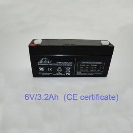 Pin acid battery (6V/3.2Ah)